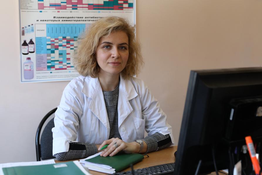 Пасько Надежда Валерьевна - зав. лабораторией
